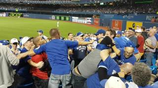 Fight At Blue Jays Game