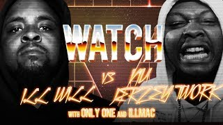 WATCH: ILL WILL vs NU JERZEY TWORK with ONLY ONE and ILLMAC