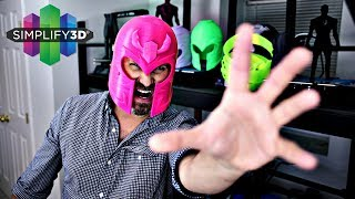 How To Make Better Test Prints with Simplify3D | 3D Printed Helmets | Cosplay