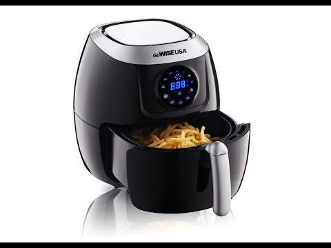 Air Fryer - GoWISE USA 5.8-Quart GW22631 Unboxing - 3 ways to cook fries - A New Hope