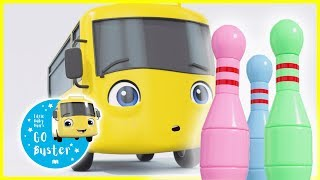 Buster Plays Skittles | GoBuster Official | Nursery Rhymes | Videos for Kids | Single Episode