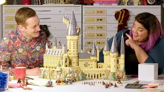 LEGO Harry Potter Hogwarts Castle - LEGO Designer Video Review - #71043