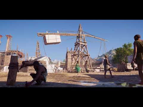 How Ubisoft Rebuilt Athens de Assassin's Creed: Odyssey