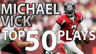 Michael Vick Top 50 Most Unbelievable Plays of All-Time | NFL Highlights
