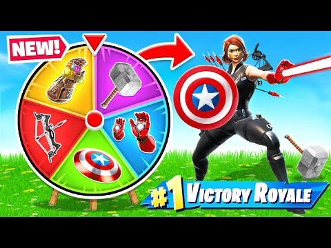 , title : 'AVENGERS ENDGAME Spin The WHEEL *NEW* Game Mode in Fortnite Battle Royale'