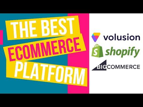 Volusion vs Shopify vs BigCommerce   The Best Ecommerce Platform in 2020   eCommerce Millionaires