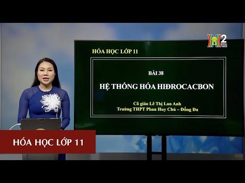 MÔN HÓA HỌC - LỚP 11 | HỆ THỐNG HÓA VỀ HIDROCACBON | 15H45 NGÀY 21.04.2020 | HANOITV