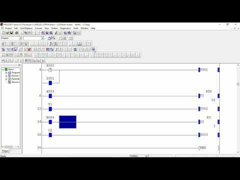 GX Developer PLC software   Mitsubishi PLC programming - YouTube