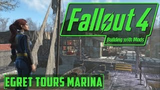 Egret Tours Marina Has a Dark Secret - Building with Mods - Fallout 4