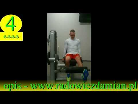 Ćwiczenia na mięśnie brzucha ćwiczenia kompleks