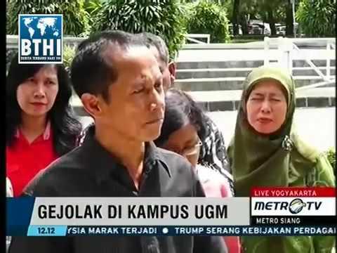 Berita 04 Mei 2016 VIDEO Demo Ricuh Mahasiswa UGM Sampai Rektor Dikejar kejar Pontang Pant