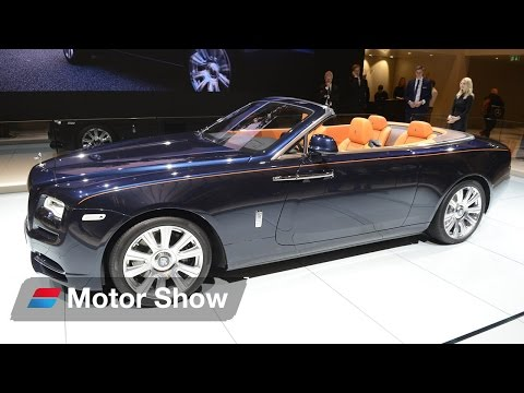 Rolls Royce Dawn vs  Mercedes Benz S Class Convertible  - Frankfurt Motor Show 2015