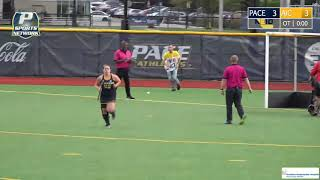 Pace Field Hockey Earns Dramatic Shootout Win Against AIC