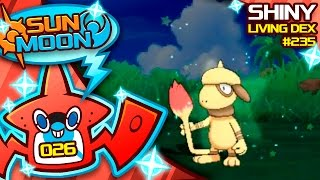 Smeargle  - (Pokémon) - SUPER LUCKY! SHINY SMEARGLE! Quest For Shiny Living Dex #235 | Sun Moon Shiny #26