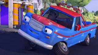 Олли Веселый грузовичок - Мультик про машинки - Все серии - Сборник 4