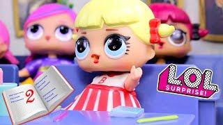 Куклы ЛОЛ КТО ПОЛУЧИЛ ДВОЙКУ? Мультик LOL Школа Игрушки для Девочек