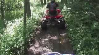 preview picture of video 'ocq  raptor 660 and honda 400ex lisban ohio'