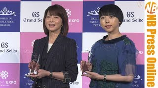 森高千里・MIKIKO、働くスペシャリストな女性賞受賞