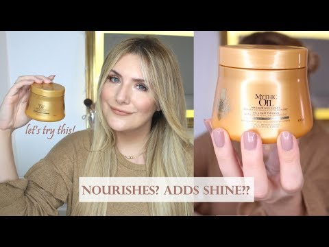 L'OREAL MYTHIC OIL HAIR MASK: LET'S TRY IT! #TreatmentTuesdays FIRST IMPRESSIONS