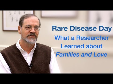 Rare Disease Day: What a Researcher Learned about Families and Love
