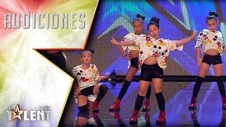 ¡Menudo flow tiene Little Peanuts!   Audiciones 2   Got Talent España 2017