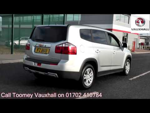 2012  Chevrolet Orlando  LT  1.8l Silver IFZ8601 for sale at Toomey Vauxhall Southend