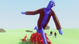 TAKING DOWN CHICKEN MAN MAN!! | Totally Accurate Battle Simulator (TABS)