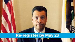 How to Vote for President in California's June 7, 2016 Presidential Primary Election