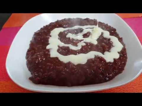 Rice Chocolate Pudding ( CHAMPORADO )