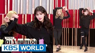 Somi&Minzy gather at JYP to get their dance homework checked[Sister's Slam Dunk Season2/2017.03.03]