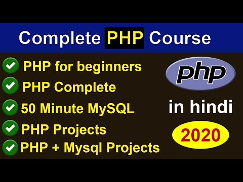 PHP Programming Language Complete In One Video In Hindi - PHP Complete Course (2020)