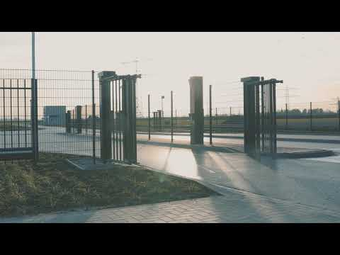 Heras sGate trackless – Fast and controlled access