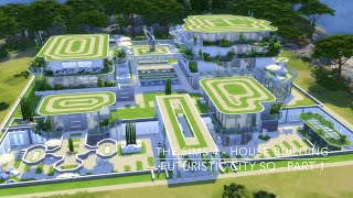 The Sims 4 - House Building - Futuristic City SQ - Part 1