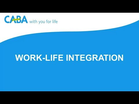 Work-life integration