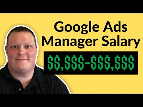 Google Ads Specialist Salary | How Much Do Google Ads Managers ...