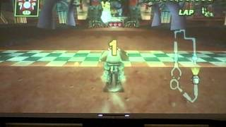 Mario Kart (Wii) - Unlocking Expert Staff Ghosts on Special Cup