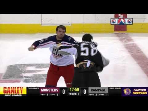 Patrick Bordeleau vs Brett Gallant