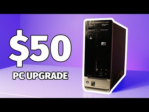 Turn Your Low End PC Into A Gaming PC For $50