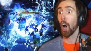 Asmongold Hosts DEATH KNIGHT Damage Contest! - THE BEST ONE YET!