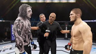 Khabib vs. Soul Collector (EA Sports UFC 2) ☝️🦅