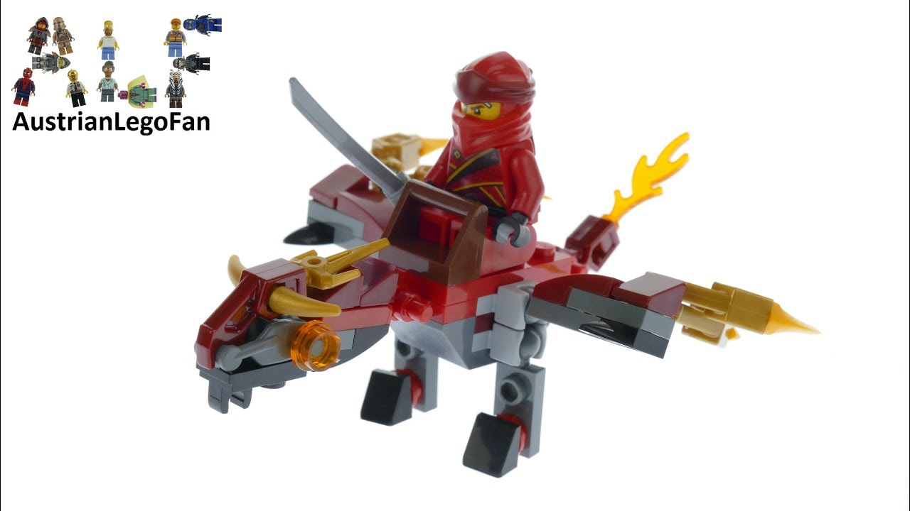 Lego Ninjago Legacy 30535 Fire Flight Kai´s Mini Dragon Speed Build