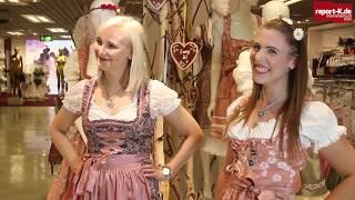 Dirndl und Lederhosen im Galeria Kaufhof Köln Hohe Straße