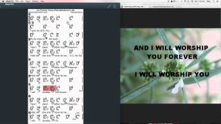 I'm Forever Yours Chords At MyPartitur - Planetshakers