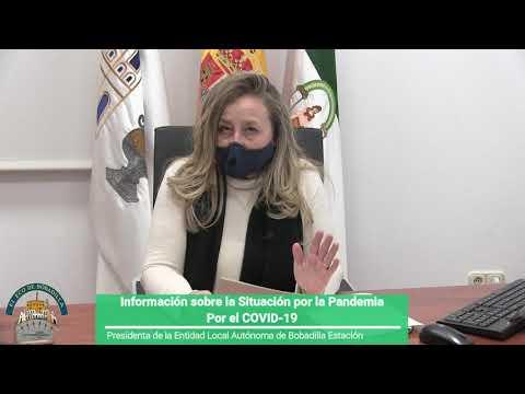 VÍDEO MENSAJE de Diana Ramos Jaquet Presidenta de la ELA de Bobadilla Estación