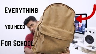 Whats In My Backpack?