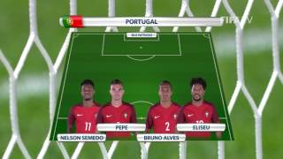 Match 10: New Zealand v Portugal -Team Lineups - FIFA Confederations Cup 2017