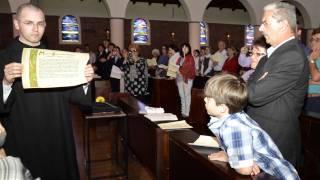 preview picture of video 'Profissão Solene de Dom Samuel - Mosteiro da Transfiguração'