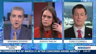 Malzberg Panel - Jessica Tarlov and Ford O'Connell