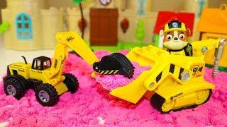 Мультики про машинки Щенячий патруль Машинки Помощники Крепыша Мультфильмы для детей про Игрушки