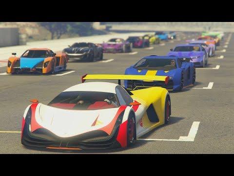 GANO A 4.000 JUGADORES!! - CARRERA GTA V ONLINE - GTA 5 ONLINE
